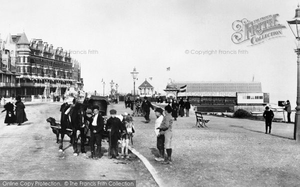Bexhill, The Marina 1897