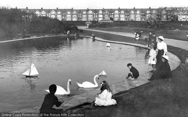 Bexhill, The Park 1910