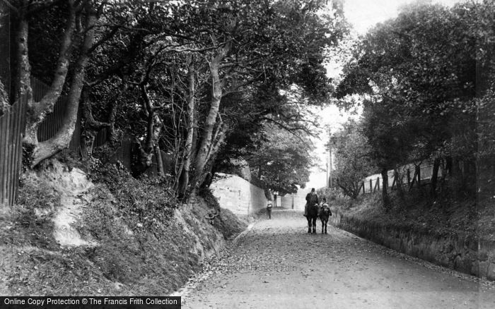 Photo of Bexhill, Upper Sea Road 1903