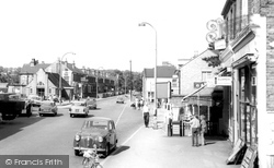 Bexley, Bourne Road c.1965