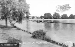 Bexley, Danson Park, Boating Lake c.1965