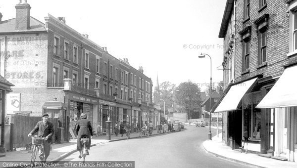 Bexley, High Street c.1955