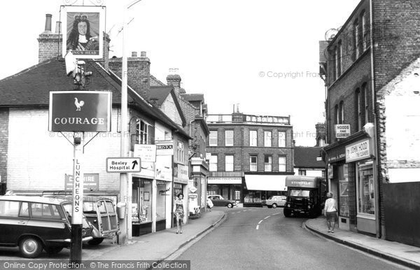 Bexley, High Street c1965