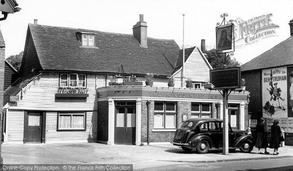 Photo of Bexley, Kings Head Inn c1955, ref. B83042