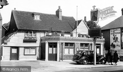 Bexley, Kings Head Inn c.1955