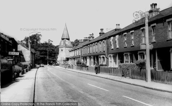 Bexley, North Cray Road c1965