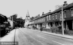 Bexley, North Cray Road c.1965