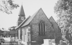 Bexley, Parish Church c.1965