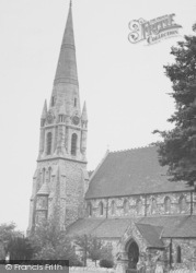 Bexley, St John's Church c.1955