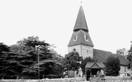 Bexley, St Mary's Church c1955