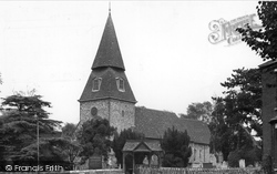 Bexley, St Mary's Church c.1955