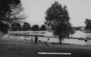 Bexleyheath, Boating Lake, Danson Park c.1965