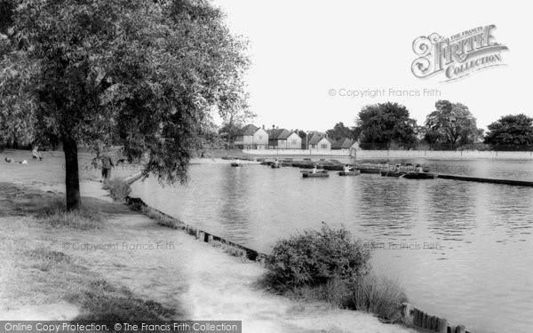 Photo of Bexleyheath, Boating Lake, Danson Park c1965