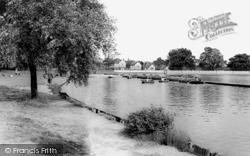 Boating Lake, Danson Park c.1965, Bexleyheath