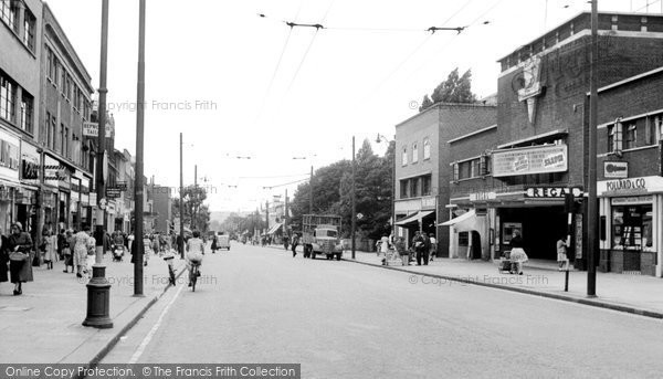 Photo of Bexleyheath, Broadway c1955
