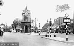 Clock Tower c.1950, Bexleyheath