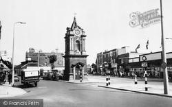 Clock Tower c.1960, Bexleyheath