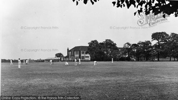 Photo of Bexleyheath, County Modern School Playing Fields c1955