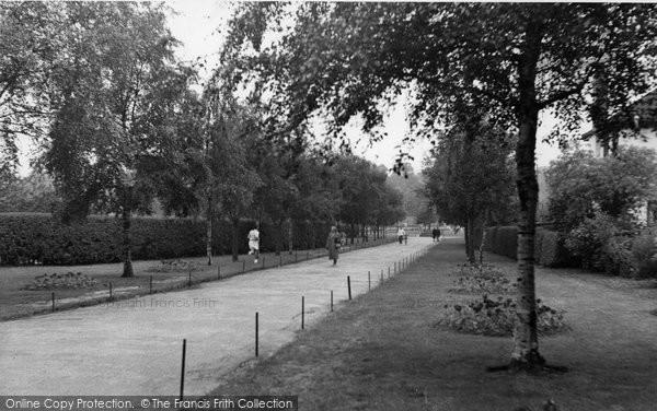 Bexleyheath, Danson Park c.1955