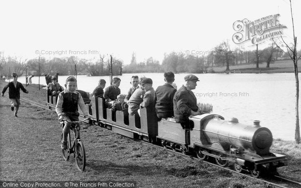 Bexleyheath, Danson Park, Miniature Railway c.1955