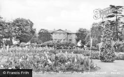 Old English Garden, Danson Park c.1955, Bexleyheath