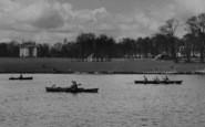 Bexleyheath, Rowing On The Lake, Danson Park c.1955