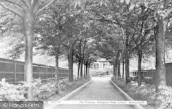 The Avenue, Brampton Road School c.1950, Bexleyheath