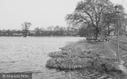 The Lake, Danson Park C 1955, Bexleyheath