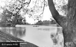 The Lake, Danson Park c.1960, Bexleyheath