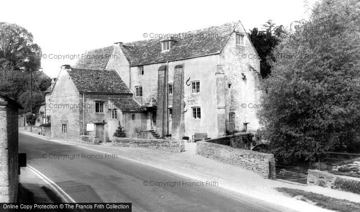 Bibury,Arlington Mill c1955,Gloucestershire