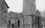 Bibury, St Mary's Church c.1960