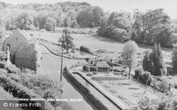 Bibury, Swan Gardens And Bridge c.1955