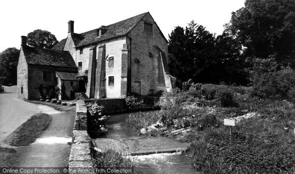 Bibury,the Mill c1960,Gloucestershire