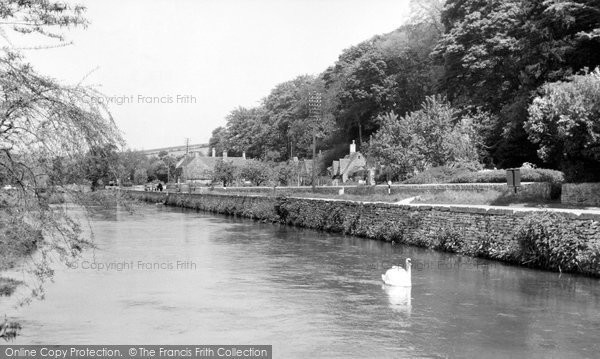 Bibury, The River Coln c.1955