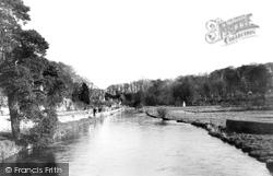 Bibury, The River Coln c.1960