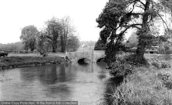 Bibury, The River Coln c.1965