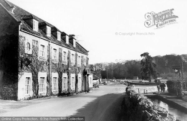 Bibury, The Swan Hotel c.1960
