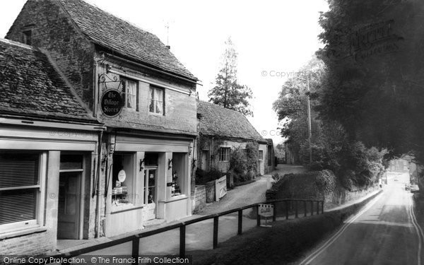 Bibury, The Village Stores c.1960