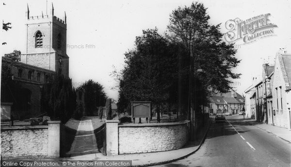 Photo of Bicester, Church Street c.1965
