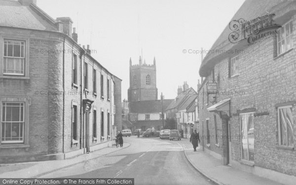 Photo of Bicester, Church Street From The West c.1960