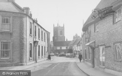 Bicester, Church Street From The West c.1960