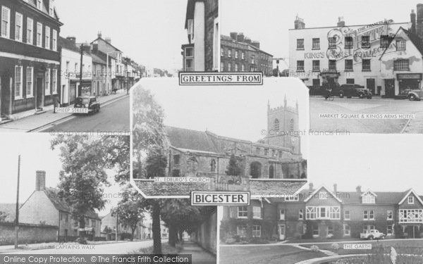 Photo of Bicester, Composite c.1955