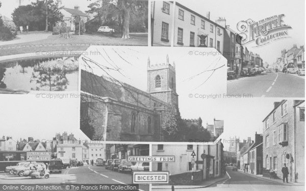 Photo of Bicester, Composite c.1960