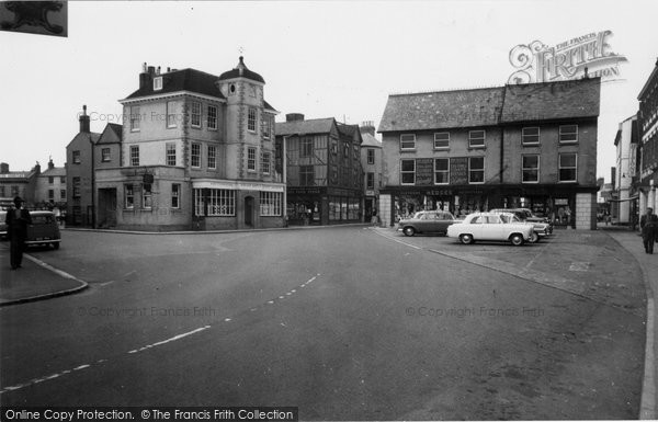 Photo of Bicester, Market Hill c.1960