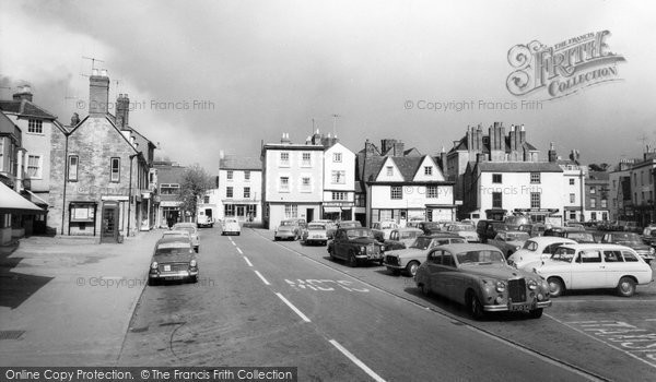 Photo of Bicester, Market Place c.1965