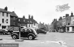Bicester, Market Square c.1955
