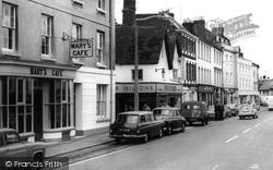 Bicester, Mary's Café c.1965