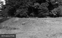 Bicester, Middleton Stoney Castle Earthworks 1952
