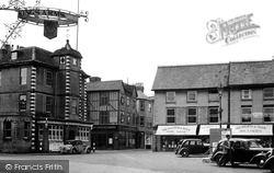 Bicester, Old Houses, Market Hill c.1950