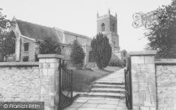Bicester, Parish Church Of St Edburg c.1960